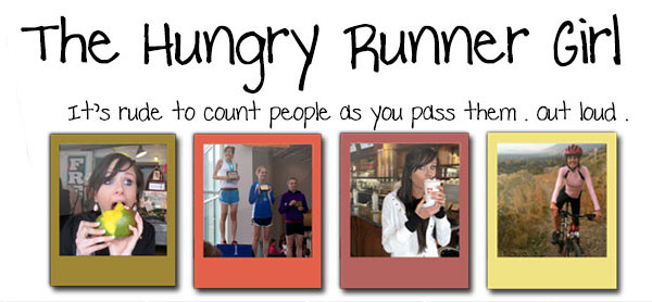 The hungry runner girl