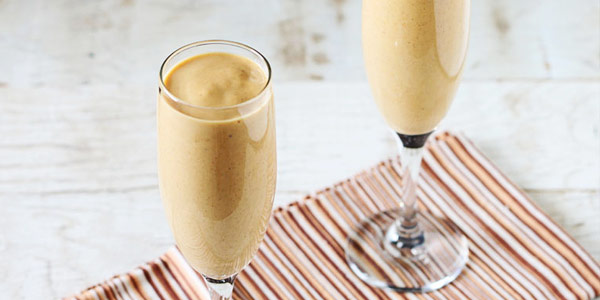 Biscoff Pumpkin Pie Smoothie