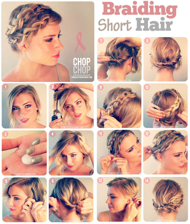 Stupendous Can You Do Braids With Short Hair Braids Hairstyles For Women Draintrainus
