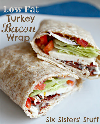Lowfat Turkey Bacon Wrap