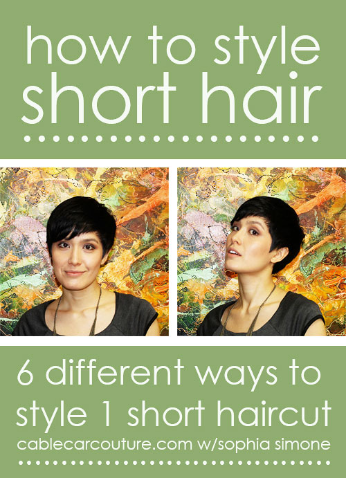 how-to-style-short-hair