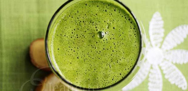 Kale-Grape-Ginger-Juice
