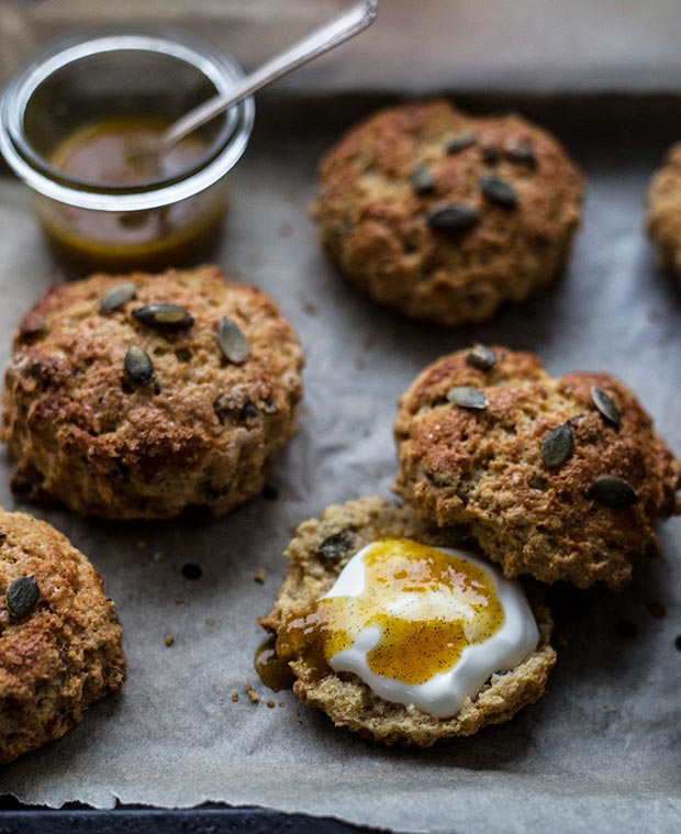 pumpkin-seed-scones
