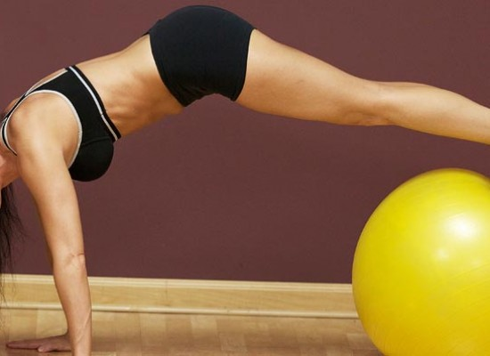 7 Awesome Exercise Ball Workouts For Women