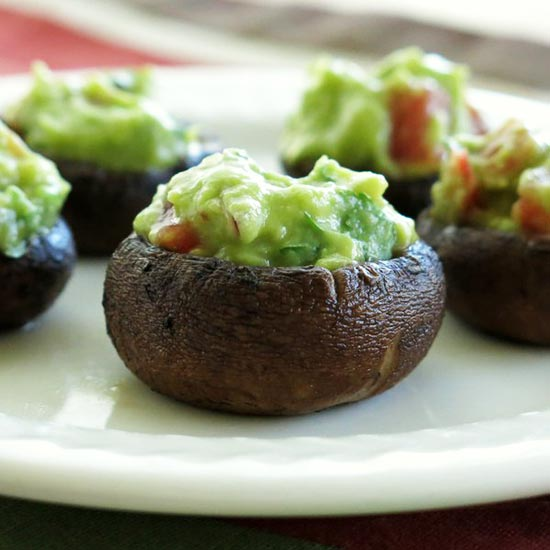 Quacamole-Stuffed-Mushrooms